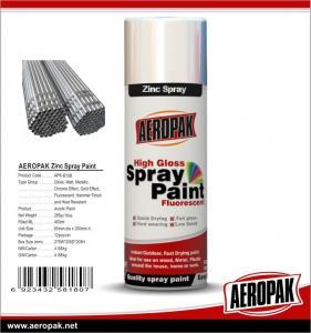 Buy cheap Cheap Price Multi-purpose 400ml Acrylic Shenzhen AEROPAK Cold Galvanizing Zinc Spray Paint from Wholesalers