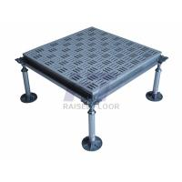 Buy cheap Square HPL Aluminum Raised Floor , Antistatic Removable Flooring from wholesalers