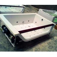 Buy cheap Hydrotherapy Bath Jacuzzi Whirlpool Bath Tub White With FREE Remote Control from Wholesalers