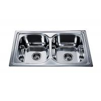 China buy double kitchen sink #FREGADEROS DE ACERO INOXIDABLE #wenying sink factory #stainless steel sink manufacturer #sink on sale