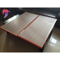 China 20-325 Mesh SS Shale Shaker Screen , Oil Drilling Vibration Sieve Mesh on sale