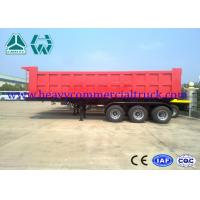 Buy cheap Carbon Steel Square Tipper Semi Trailer Less Weight Manual Transmission from Wholesalers