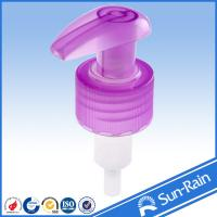 Buy cheap 24mm 28mm Plastic lotion pump / liquid dispenser for shampoo bottle from Wholesalers
