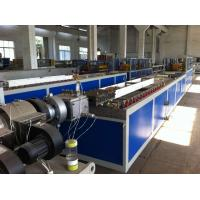 Buy cheap PVC / WPC Wood Plastic Extrusion Line For PVC Foamed Profile from Wholesalers