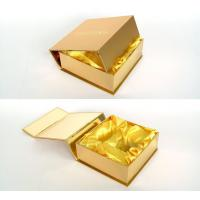 Buy cheap Customized Gold Present Wine Gift Cardboard Boxes with Lids for Wedding from Wholesalers