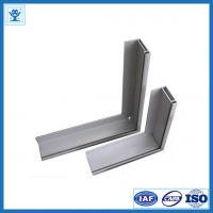 Powder blasting 6063-T5 / T6 extruded aluminum framing for table edge