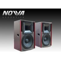 Buy cheap 450 W Full Range Speakers 8ohm 127dB For Stage Events , Textured Black Paint from Wholesalers