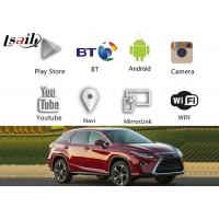 Buy cheap Android Gps Navigation Box Video Interface for Lexus Rx Nx LC GS IS ES LX LS GS UX from Wholesalers