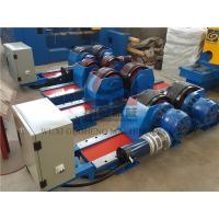 Buy cheap Bolt Adjustable type Pipe Welding Rotator with Siemens DC Motor / Pipe Rotators for Welding from Wholesalers