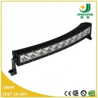 Buy cheap Hot!!! cree 100w curved led light bar for trucks offroad atv suv jeep wrangler snowmobile from Wholesalers