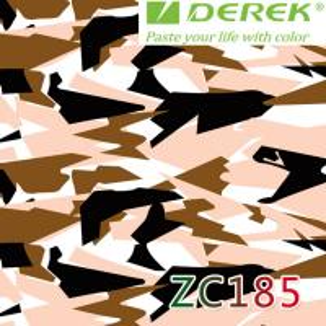 ZC185 Bubble Free Digital Printing Doodle Film / Graffiti Sticker Bomb for Car Wrapping