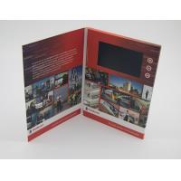 Quality Business Paper Lcd Video Mailer , Lcd Invitation Card A4 / A5 / A6 Finish Size wholesale
