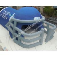 Buy cheap PVC Inflatable football helmet,Inflatable soccer helmet from Wholesalers