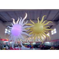 2m Height Inflatable Sun with Light for Club and Concert Decoration