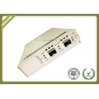 China Two SFP + Ports Optical Media Converter Support In - Band Management on sale