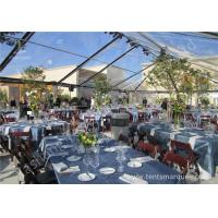 Buy cheap Transparent PVC Fabric Cover Luxury Wedding Tents for Parties With Aluminum Alloy Frame from Wholesalers