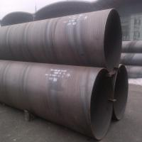 China Spiral Welded Carbon Steel SAW Steel Pipe ASTM A53 Grade B Plain Ends 26'' Sch30 on sale