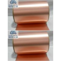 Buy cheap 35 um double shiny  high-precision ra copper foil with high content Cu from wholesalers