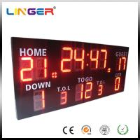 Buy cheap Wireless Control Germany / American Electronic Soccer / Football Scoreboard from wholesalers