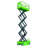Buy cheap Working Height Max 12m self propelled  vertical lift platform of 230kg loading capacity from wholesalers