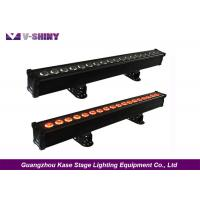 Buy cheap 18w x 18pcs rgbwauv 6-in1 pixel to pixel bar led dmx512 stage light from wholesalers