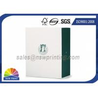 Buy cheap Apparel / Shoes Packaging Rigid Paper Gift Box Drawer Shaped Custom Logo Printing from Wholesalers