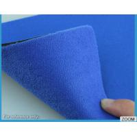 Buy cheap 3MM - 7MM SBR Rubber Chemical Resistance With Shiny Terry Nylon Fabric from Wholesalers