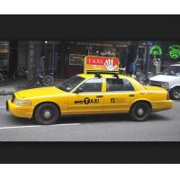 Buy cheap Outdoor Taxi Top LED Display High Brightness P4 3G 40000 Dots / Sqm 1200Hz from Wholesalers