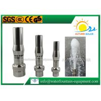 Buy cheap Aerated Frost Shape Stainless Steel Fountain Nozzles 10-15m3/H Flow Rate from Wholesalers