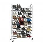 Buy cheap Durable Wire Floor Shoe Display Racks Hotel Furniture from Wholesalers
