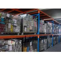 Buy cheap Silvery Foldable Galvanized Pallet Wire Mesh Cages For Warehouse Storage from wholesalers