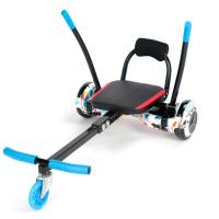 Quality Balancing Two Wheel Scooter Go Kart Chair , Hoverboard Sitting Attachment wholesale