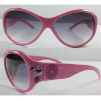Buy cheap kid's sunglasses with cartoon printed on the frame, Children Sunglasses from wholesalers