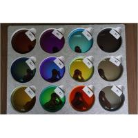 Buy cheap Mirror 1.499 Revo Sunglass Lenses , 70MM Dia Sunglasses Color Tinted Lenses from Wholesalers
