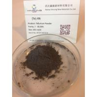 Buy cheap Non-Ferrous Metals Tellurium Metal Powder 200 Mesh for Thermal Analysis Cups from wholesalers