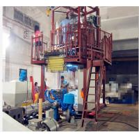 Buy cheap Rotary Blown Film Equipment , Pvc Shrink Film Machine High Output 90-110Kg/H from wholesalers