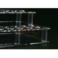 Customized Clear Acrylic Makeup Display Stand Lipstick Display Holder