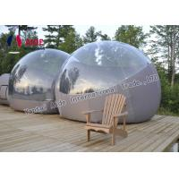 Buy cheap Semi - Transparent PVC Inflatable Event Tent Outdoor Bubble Tent Customized from Wholesalers