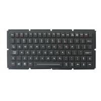China IP65 thin silicone industrial keyboard with OEM version for ruggdeized computer on sale