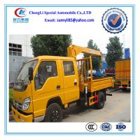 Buy cheap Famouse 4*2 light truck with Crane 3.2Ton from Wholesalers