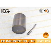 Buy cheap 0.25 Inch Fine Grain Graphite Rod Electrodes , 48 HSD Stirring Graphite Cylinder from Wholesalers