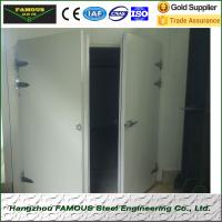 Quality pu insulated hinged doors cold storage room wholesale