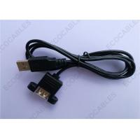 Buy cheap Black UL2725 A/M To A/F USB Extension Cable For Signal from wholesalers