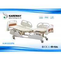 Three Functions Electric Care Bed With Plastic Base KJW-D333PN