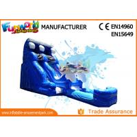 China 2018 Cartoon Inflatable Water Slides Water Inflatable Slide For Kids and Adults on sale