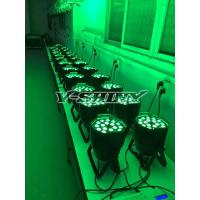 Buy cheap 15-60 Degree Zoom 15w 18pcs Rgbwa 5in1 Dmx Led Par Cans Light WIth 1 Year Warranty from wholesalers