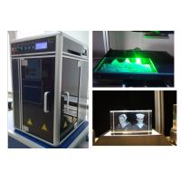 Buy cheap Air Cooling Industrial Laser Engraving Machine Single Phase 220V or 110V Powered from Wholesalers