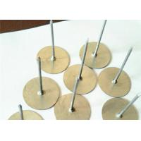 Buy cheap Galvanized Steel Cup Head Weld Pins , 12Ga Insulated Cup Head Pins from Wholesalers