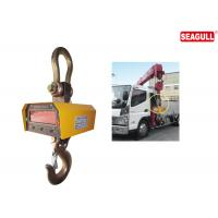Quality LED Heavy Load Steel Hook Digital Crane Weighing Scale For Warehouse Capacity 30 Ton wholesale