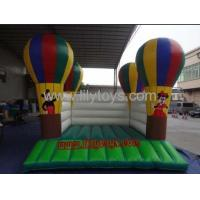 China PVC balloon Commercial Inflatable Bouncers / inflatable moonwalk for rent on sale
